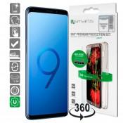 4smarts 360 ° Premium Beschermingsset  Galaxy S9 Clear
