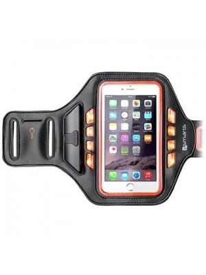 4smarts Basic Universal LED Sportarmband Jogger - Oranje