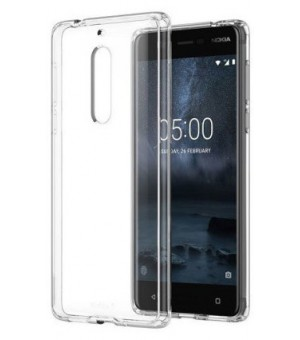PM - Silicone Case Nokia 8 - Clear