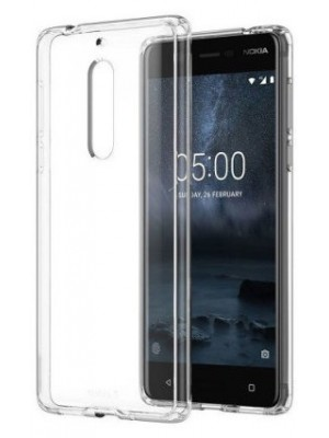 PM - Silicone Case Nokia 5 - Clear