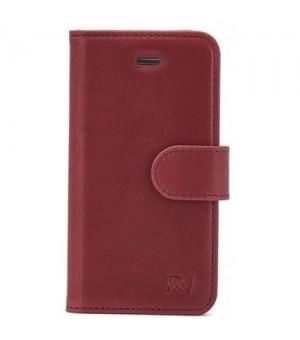 Rico Vitello Genuine Leather Wallet Samsung Galaxy S8 Plus Rood