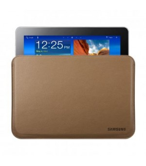 Samsung Galaxy Note 10.1 Leather Pouch - Brown