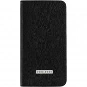 Hugo Boss Folianti Flip Wallet voor Samsung Galaxy S5/S5 Neo - Zwart
