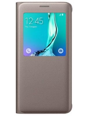 Samsung S-View Cover Galaxy S6 Edge Plus EF-CG928PFEGWW - Goud