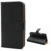 PH Samsung Galaxy S4 Mini Wallet Leather Case - Black