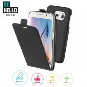 BeHello Samsung Galaxy S6 2-in-1 Flip Case Black