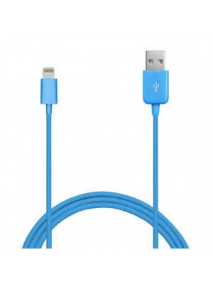 Puro Lightning Kabel voor iPhone / iPad - Blue