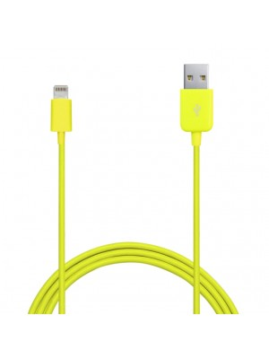 Puro Lightning Kabel voor iPhone / iPad - Yellow