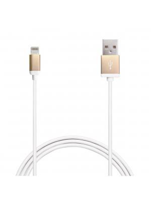 Puro Lightning Kabel voor iPhone / iPad - Gold