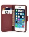Rico Vitello Genuine Leather Wallet iPhone 8 / 7 - Bruin