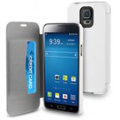 Muvit Easy Folio Case Samsung Galaxy S5 Mini - White