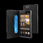 muvit Huawei Ascend G6 Folio Case - Black