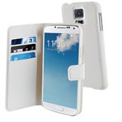 Muvit Wallet Case Samsung Galaxy Alpha - White