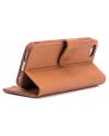 Rico Vitello Genuine Leather Wallet iPhone 6/6S Plus - Light Brown