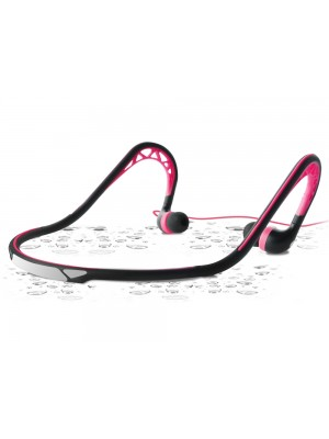 Puro In-Ear Neckband Sport Stereo Headset - Pink