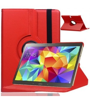 PM Rotating Stand & Case Galaxy Tab A 2016 T580 / T585 Rood