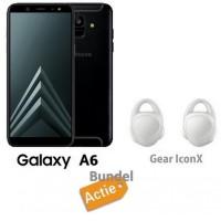 Samsung Galaxy A6 32GB DualSim + Samsung Gear iconX
