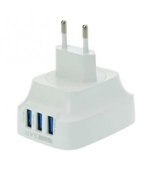 LDNIO DL-AC65 3 USB Port AC Adapter 5V 3.4A