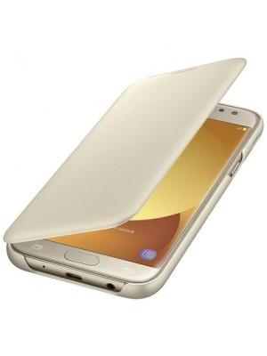 Samsung Galaxy J5 (2017) Wallet Cover - Goud
