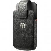 BlackBerry Classic Lederen Pouch ACC-60088-001 Zwart