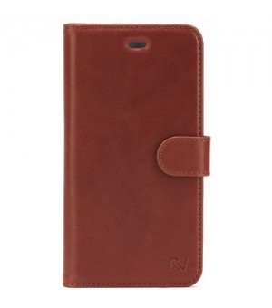 Rico Vitello Genuine Leather Wallet Samsung Galaxy S8 Plus Bruin