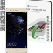 4smarts 360 ° Beschermingsset Huawei P10 Lite Clear