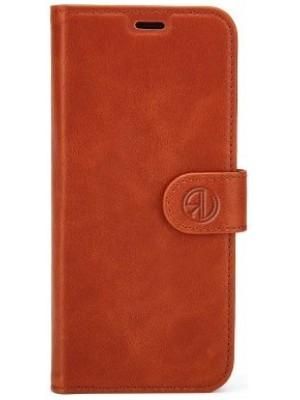 Rico Vitello Genuine Leather Wallet Case Galaxy S9 Plus - Bruin