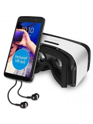 Alcatel Idol4 Plus (incl VR-bril en headset ) Zwart