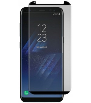 9H - Screen Protector Tempered Glass Galaxy S8 Plus Zwart