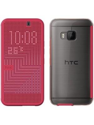 HTC Dot View II Case HTC One M9 HC M232 - Pink