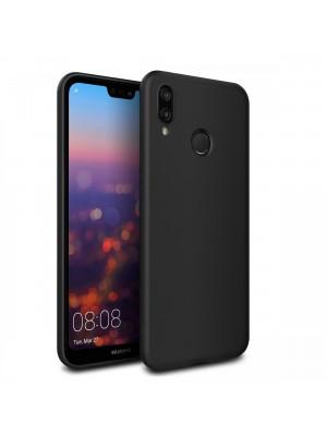 PM - Silicone Case Huawei P20 Lite - Zwart