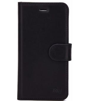 Rico Vitello Genuine Leather Wallet iPhone 8 / 7 Zwart