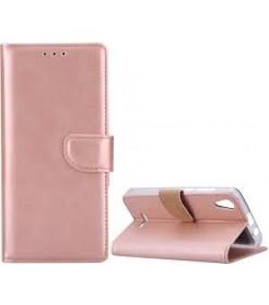 PM - Book Case Galaxy A6 - Roze