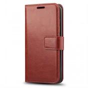 LG K10  (2016) Wallet Case  - Brown