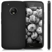PM - Silicone Case Moto G5S - Zwart