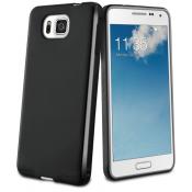Muvit Minigel Case Samsung Galaxy Alpha - Black
