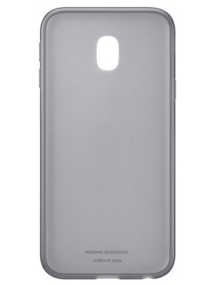 Samsung Galaxy J3 (2017) Jelly Cover  - Zwart
