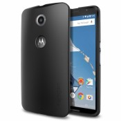 Spigen Case Thin Fit Motorola Nexus 6 SGP11232 - Smooth Black