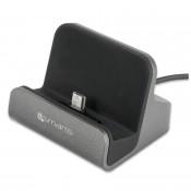 4smarts Micro-USB Charging Station VoltDock 10W Grijs