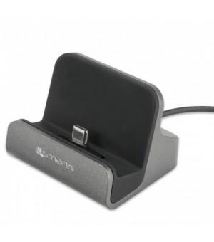 4smarts USB Type-C Charging Station VoltDock 10W Grijs