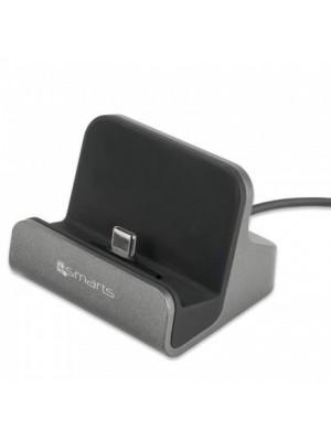 4smarts USB Type-C Charging Station VoltDock 10W - Grijs