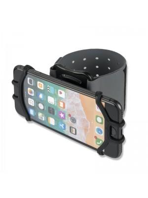 4smarts Universal Sports Armband set met Fietshouer - Zwart