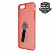 4Smarts Clip-On Hoesje met vingerriem iPhone 8 / 7 Plus - Rood
