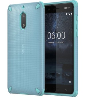 Nokia 6 Rugged Impact Case Blauw