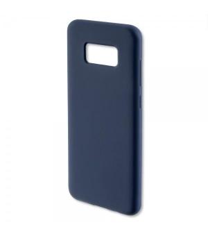4Smarts Silicone Case CUPERTINO Samsung Galaxy S8 Plus Donker Blauw