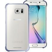 Samsung Clear Cover Galaxy S6 Edge EF-QG925BB - Black