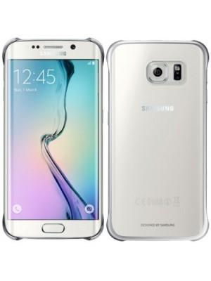 Samsung Clear Cover Galaxy S6 Edge EF-QG925BS - Silver
