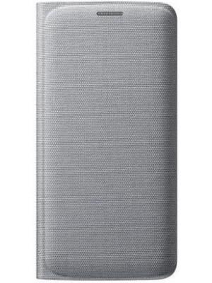 Samsung Flip Wallet Galaxy S6 EF-WG920BS - Silver (Fabric)