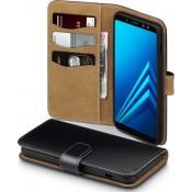 Pm - Book Case Galaxy A8 - Zwart