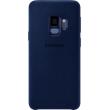 Samsung Galaxy S9 Alcantara Back Cover - Blauw